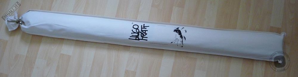 Toile sérigraphiée déco BD Corto Maltese 'Dune écru' de Hugo Pratt - Illustrose