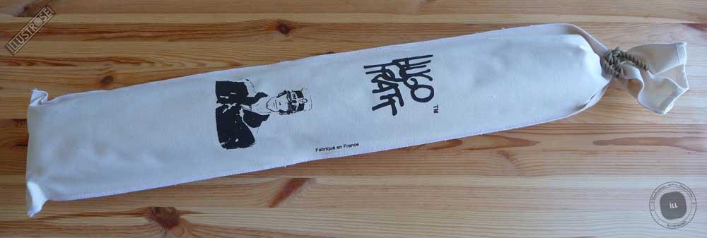 Toile sérigraphiée déco BD Corto Maltese 'Marin' de Hugo Pratt - Illustrose
