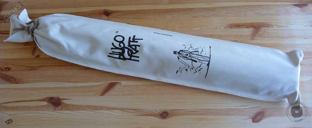 Toile sérigraphiée déco BD Corto Maltese 'Mer du nord' de Hugo Pratt - Illustrose