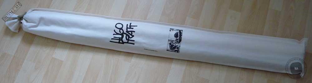 Toile sérigraphiée déco BD Corto Maltese 'Réflexion' de Hugo Pratt - Illustrose