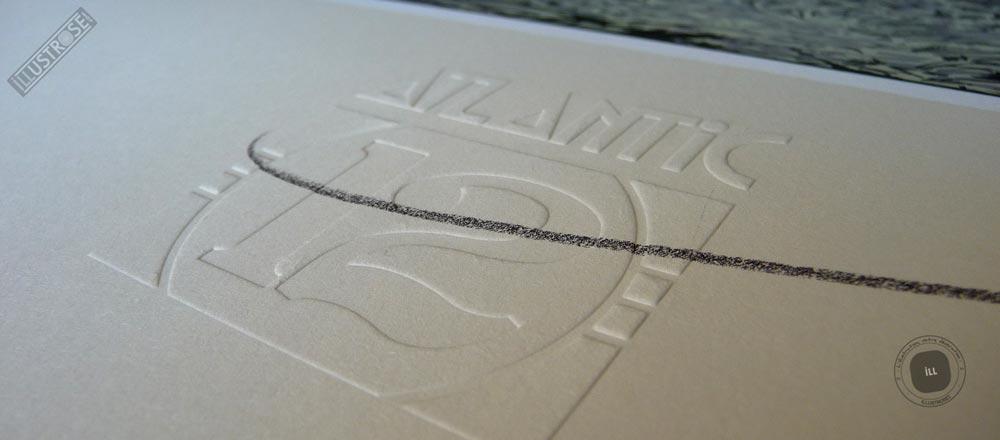 Sérigraphie signée et encadrée François Schuiten & Laurent Durieux, 'La type 12, Halte en forêt' sur papier d'art - Illustrose
