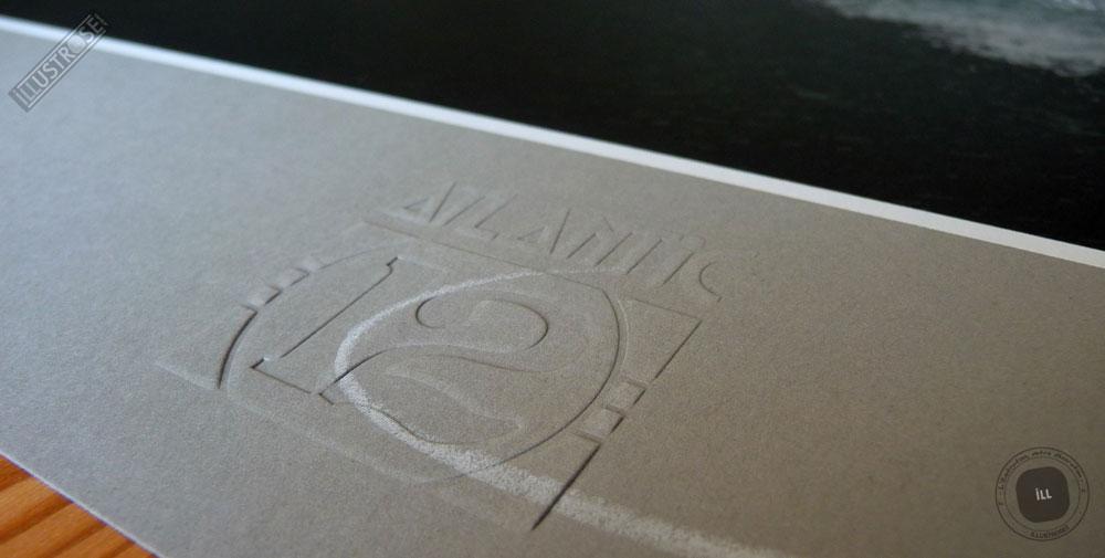 Sérigraphie signée et encadrée François Schuiten & Laurent Durieux, 'La type 12, au repos' sur papier d'art - Illustrose