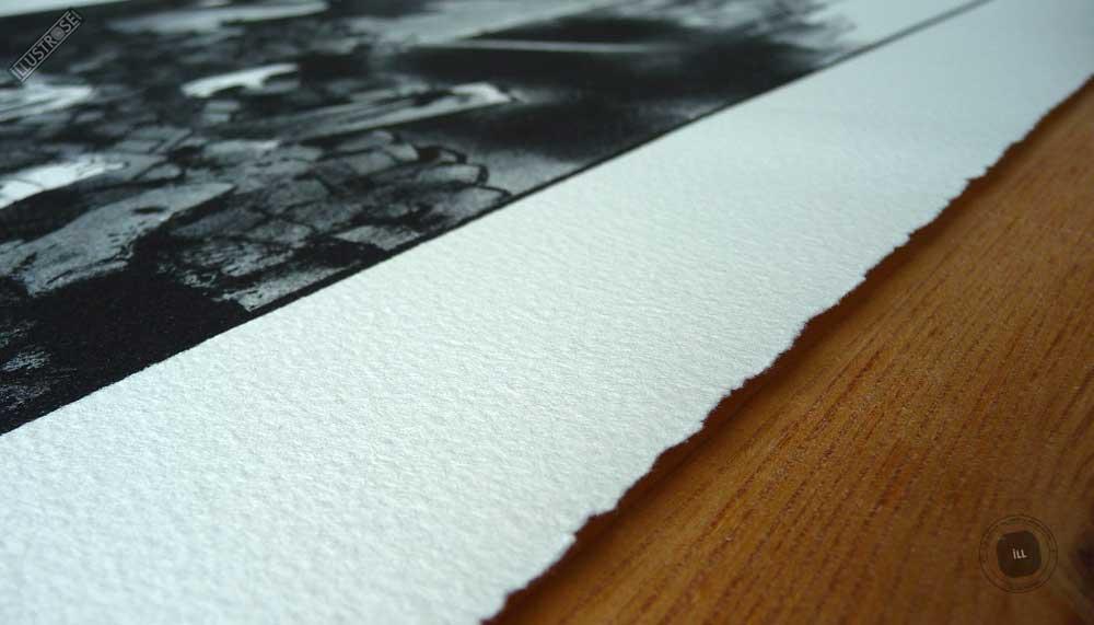Lithographie BD papier d'art Jacques Tardi encadrée 'Le cri du peuple - la commune IV' - Illustrose