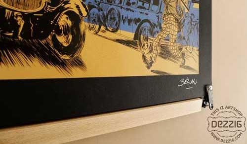 Les poster-pant by Dezzig chez illustrose