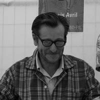 Portrait de François Avril. Illustrateur et auteur de BD.