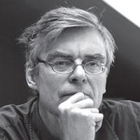 Portrait de François Schuiten. Illustrateur et auteur de BD.