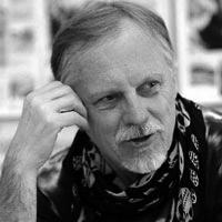 Portrait de Frank Margerin. Illustrateur et auteur de BD.